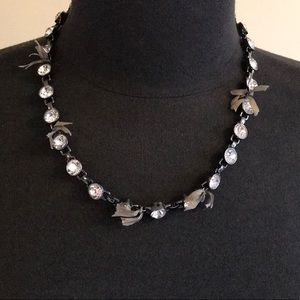 JCREW Classic Statement Necklace with Ribbons
